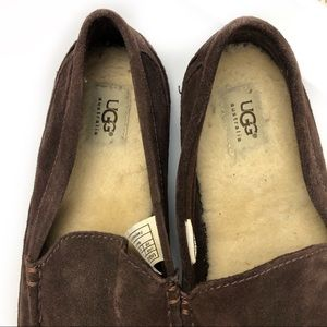 UGG Shoes - Ugg Men's Brown Slippers Size 10